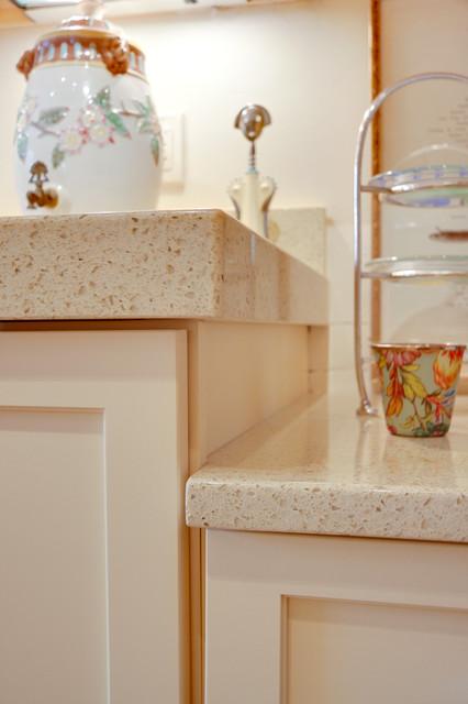 Modern Transitional Buttermilk Yellow Kitchen eclectic-kitchen