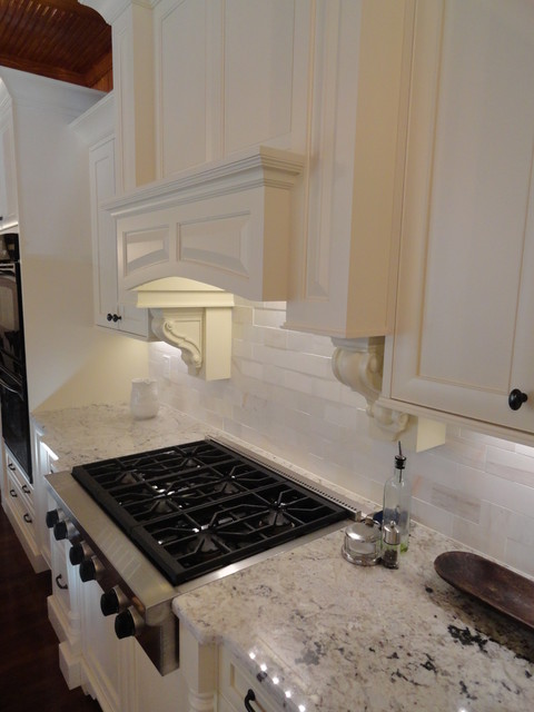 Modern Tudor in Euro Inset - Traditional - Kitchen - atlanta - by Acworth Cabinet, Inc