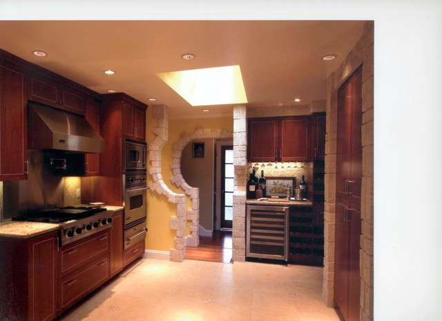 Modern Tuscan Kitchen - Traditional - Kitchen - san ...