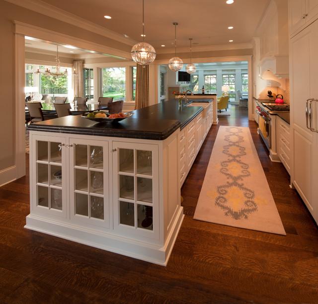 Modern Twist on Tradition transitional-kitchen