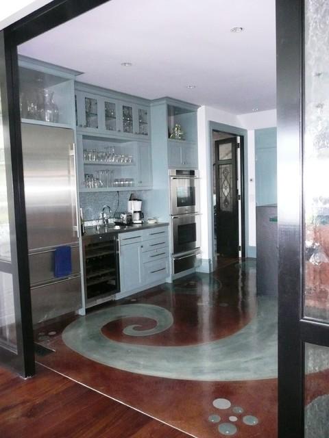 Modern Victorian Contemporary Kitchen New York By Debra Geller Interior Design