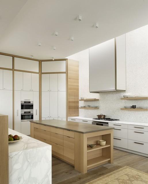 Modern Villa - Kitchen contemporary-kitchen