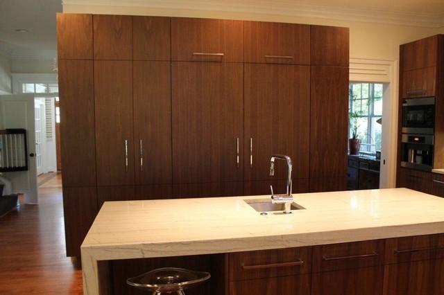 Modern Walnut modern-kitchen