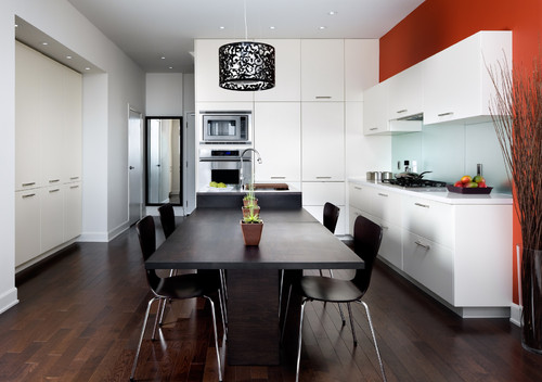 Modern White Kitchen 2 by Paris Kitchens
