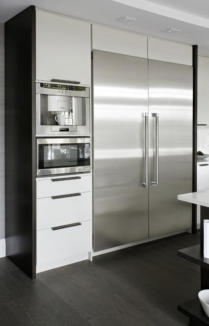 Modern White Kitchen Modern Kitchen Toronto By