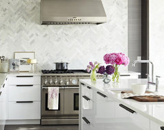 Modern White Kitchen contemporary-kitchen