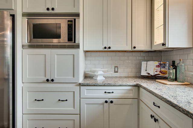 Modern White Shaker Kitchens - Modern - Kitchen - Minneapolis - by CliqStudios