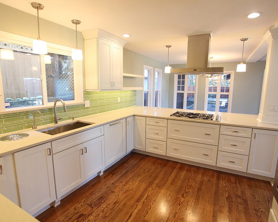... Modern Kitchen Design Photos with Shaker Cabinets and White Cabinets