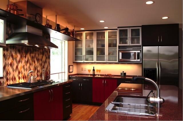 Modern woodmode kitchen greensboro nc modern kitchen Bathroom cabinets greensboro nc