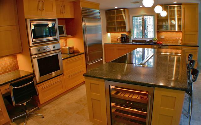 Moderne modern-kitchen