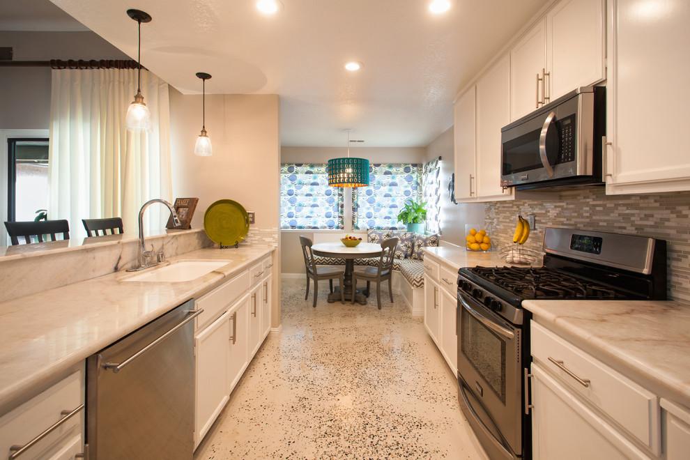 Modesto Transitional Interior Design - Transitional ...