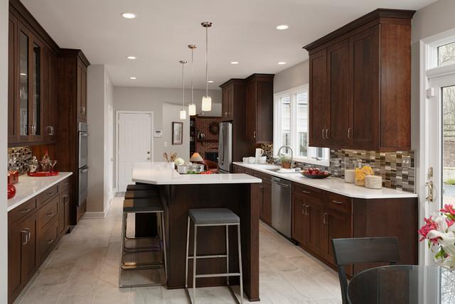 Modified Galley Kitchen Transitional Kitchen
