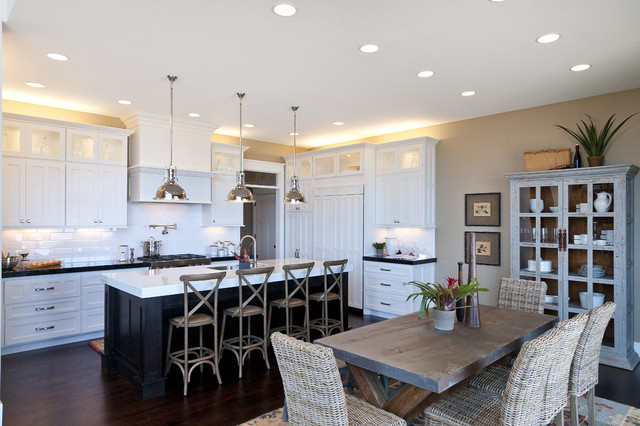 Modified telluride by candlelight homes traditional kitchen salt lake city by