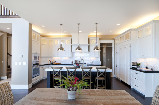 Modified Telluride by Candlelight Homes craftsman-kitchen