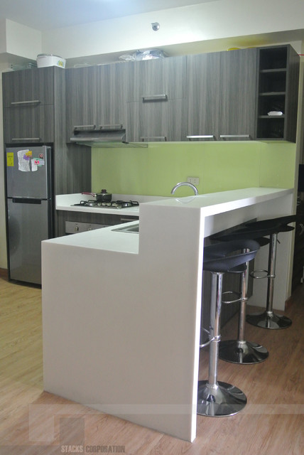 Modular kitchen cabinets in sta mesa manila philippines modern kitchen other metro by Condo kitchen design philippines