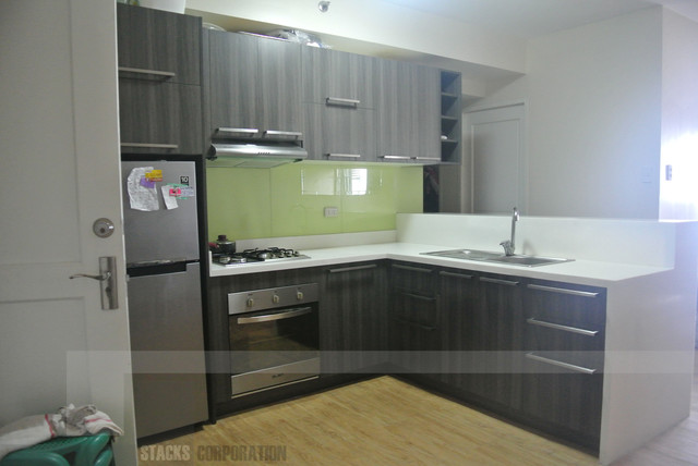 Modular kitchen cabinets in sta mesa manila philippines for Modern kitchen design philippines