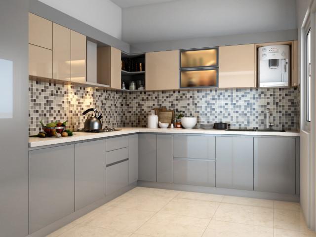Modular Kitchen Contemporary Kitchen Kolkata By Eyepopping Interiors,Modern French Kitchen Design