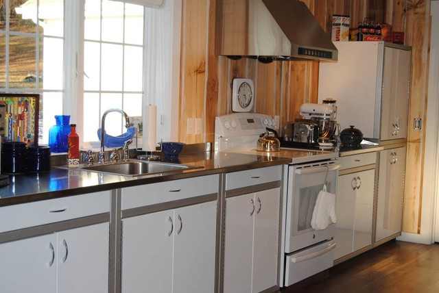 Moduline Customers Rustic Kitchen Boston By Moduline Cabinets