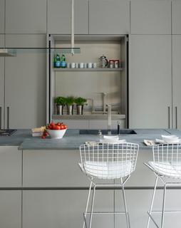 Modulnova Fly, hidden kitchen - Contemporary - Kitchen - London - by DesignSpace London