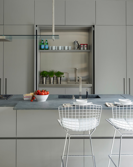 Modulnova fly hidden kitchen contemporary kitchen for Modern kitchen london