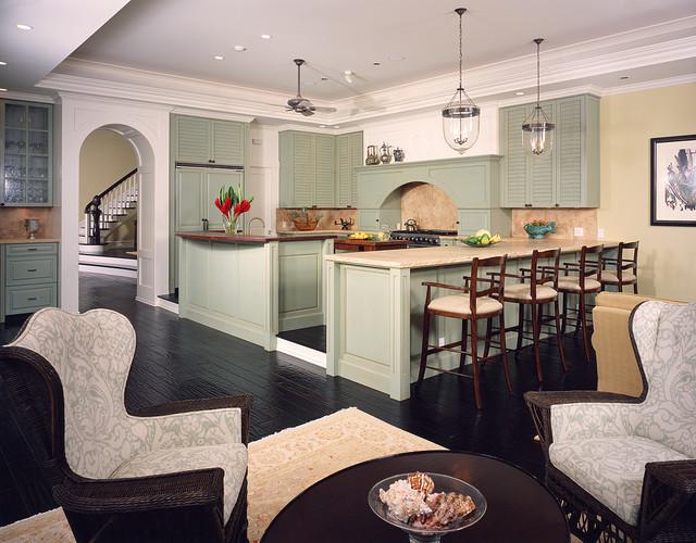 Mokulua Hillside Residence traditional-kitchen