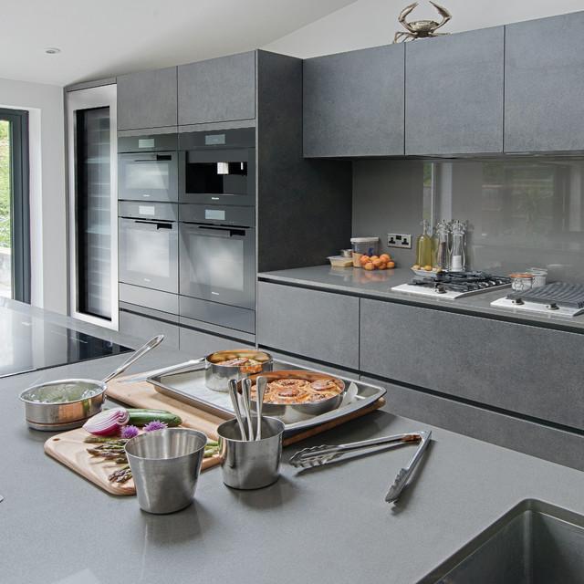 Monica galetti 39 s kitchen integrated appliances for Miele kitchen designs