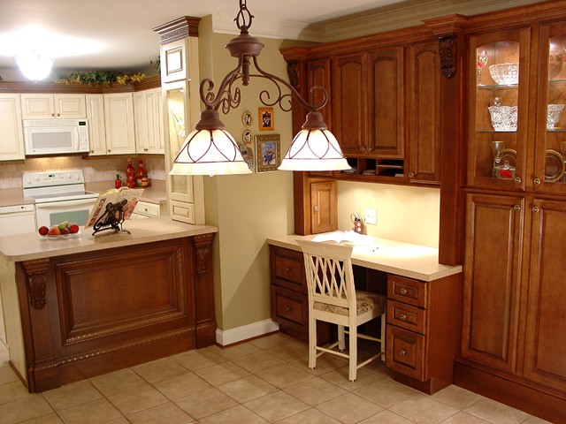 Monkton Open Kitchen - Traditional - Kitchen - baltimore - by Lazzell Design Works