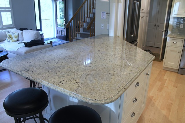 Monmouth Street Quincy Ma Traditional Kitchen Boston By Living Stone Granite