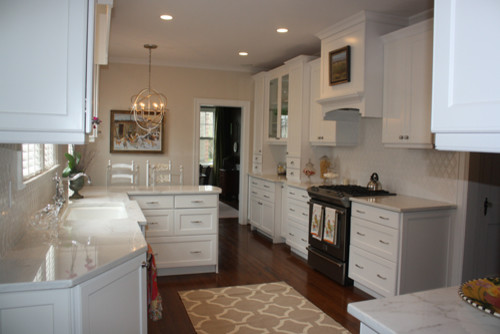 Monochromatic Kitchen traditional-kitchen