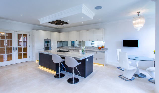 Monolith Contemporary Kitchen Hertfordshire By
