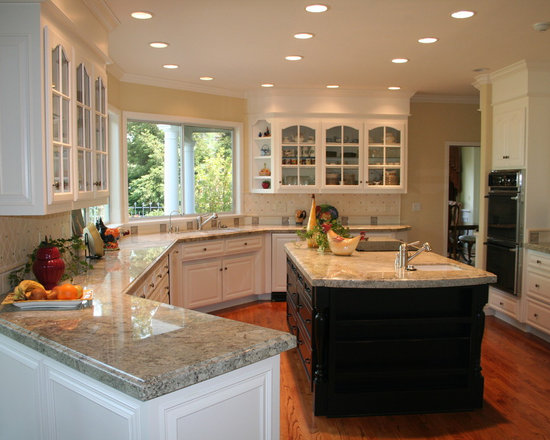 African Rainbow Granite Home Design Ideas, Pictures, Remodel and Decor
