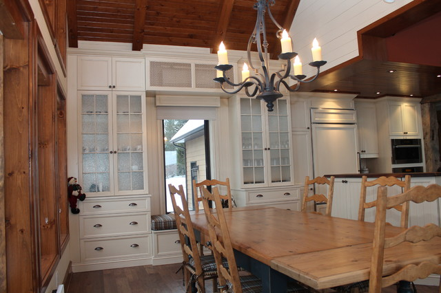 Mont Tremblant project part 2 traditional-kitchen