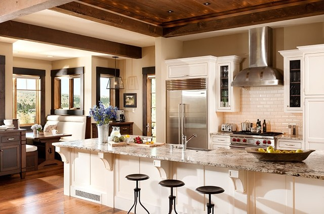 Montana Residence Traditional Kitchen Other By