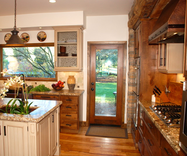 Interior Design Traditional Kitchen: Montana Style Meets SF Bay Area Ranch