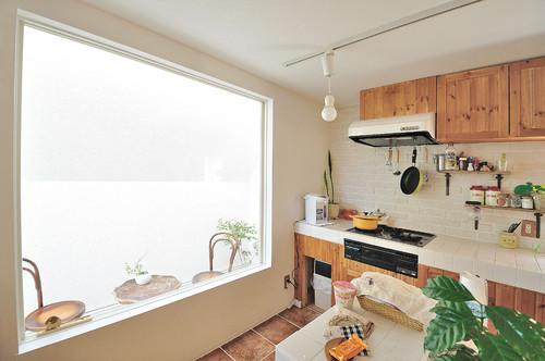 cocina de una casa japonesa en okazaki en diariodesign