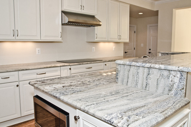 Monte Cristo Granite in Owings, MD - Contemporary - Kitchen - dc metro - by Granite Grannies