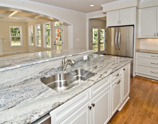 Light granite with dark cabinets west palm beach florida - Kitchen cabinets west palm beach ...