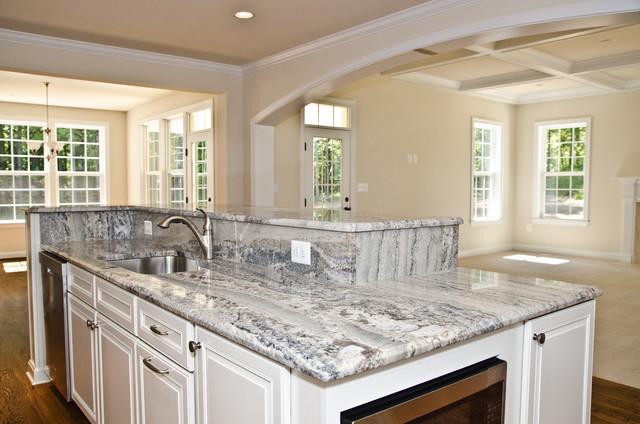 Monte Cristo Granite In Owings Md Traditional Kitchen