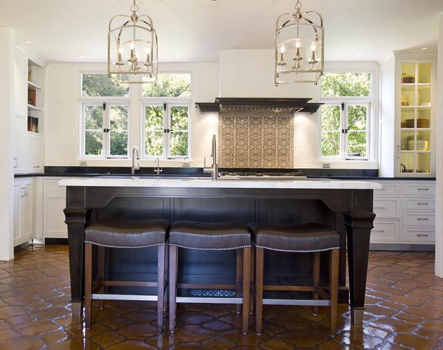 Montecito Residence mediterranean-kitchen