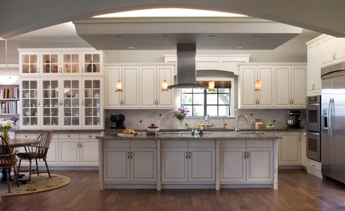 Hunter Residence eclectic kitchen