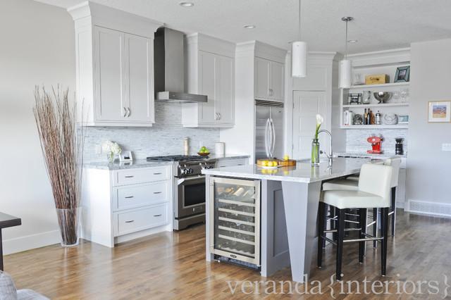 Montgomery Contemporary Kitchen Calgary By Veranda