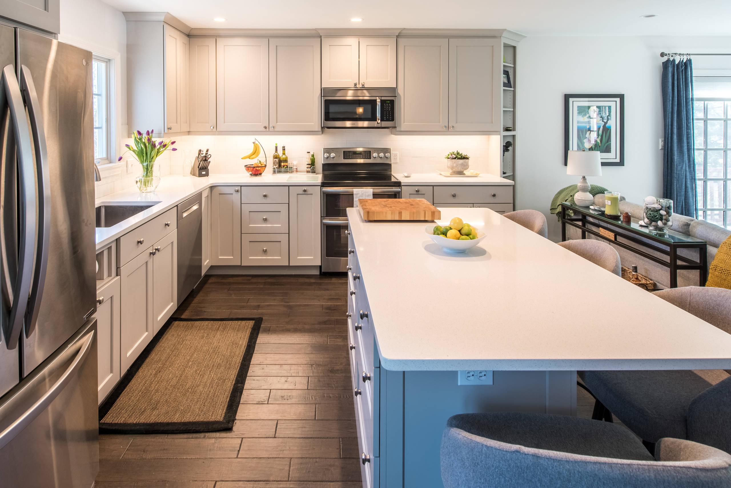 Montgomery Village, MD Contemporary Open Kitchen
