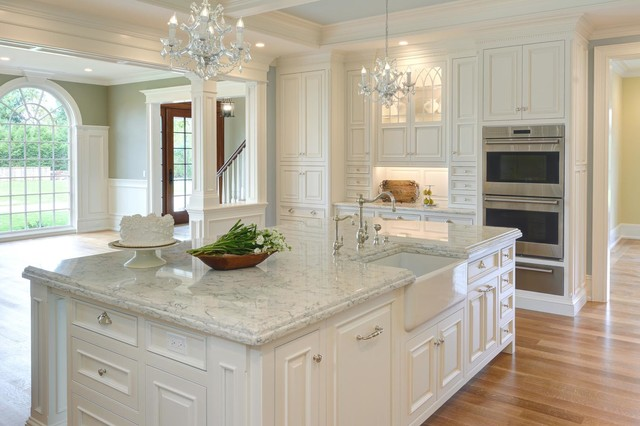 Monticello Replica - Traditional - Kitchen - other metro - by Vartanian Custom Cabinets