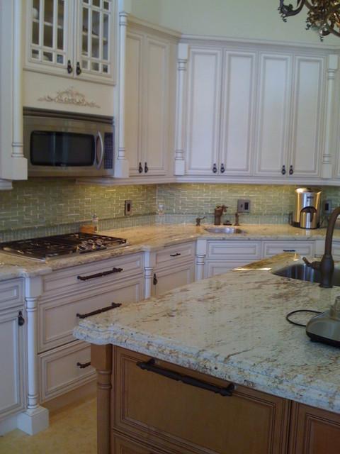 Montoya Circle Boca Raton Florida mediterranean-kitchen