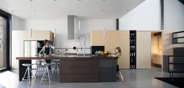 Montreal Modern House - Moderne - Cuisine - Montréal - par Natalie ...