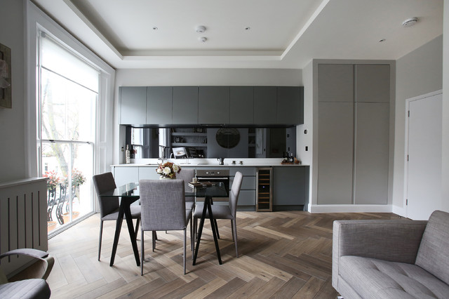 moore house contemporary kitchen london by. Black Bedroom Furniture Sets. Home Design Ideas