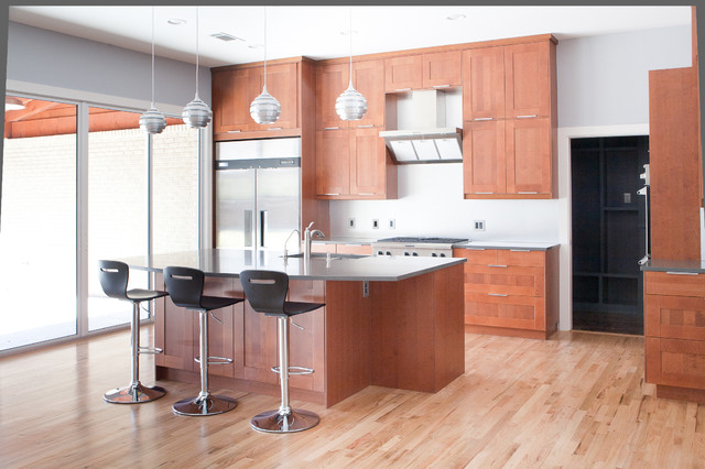 Moore Project modern kitchen