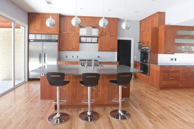 Moore Project - Modern - Kitchen - Dallas - by Modern Craft ...