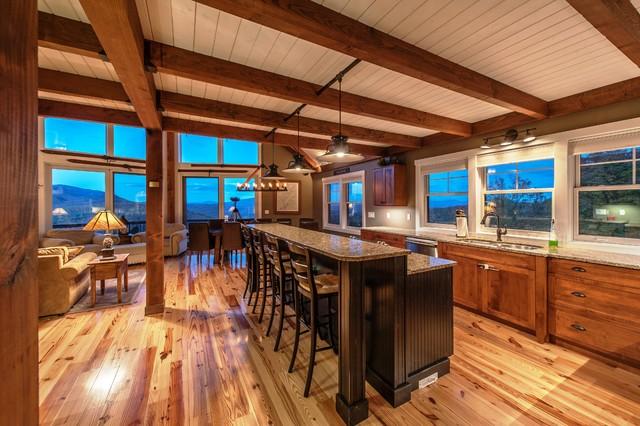 moose ridge lodge post and beamyankee barn homes