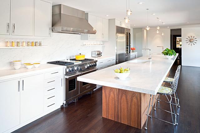 Moraga Residence midcentury-kitchen